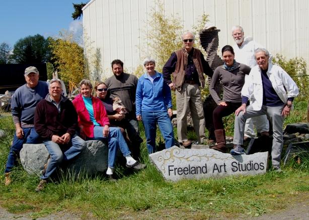 The 10 artists at Freeland Art Studios